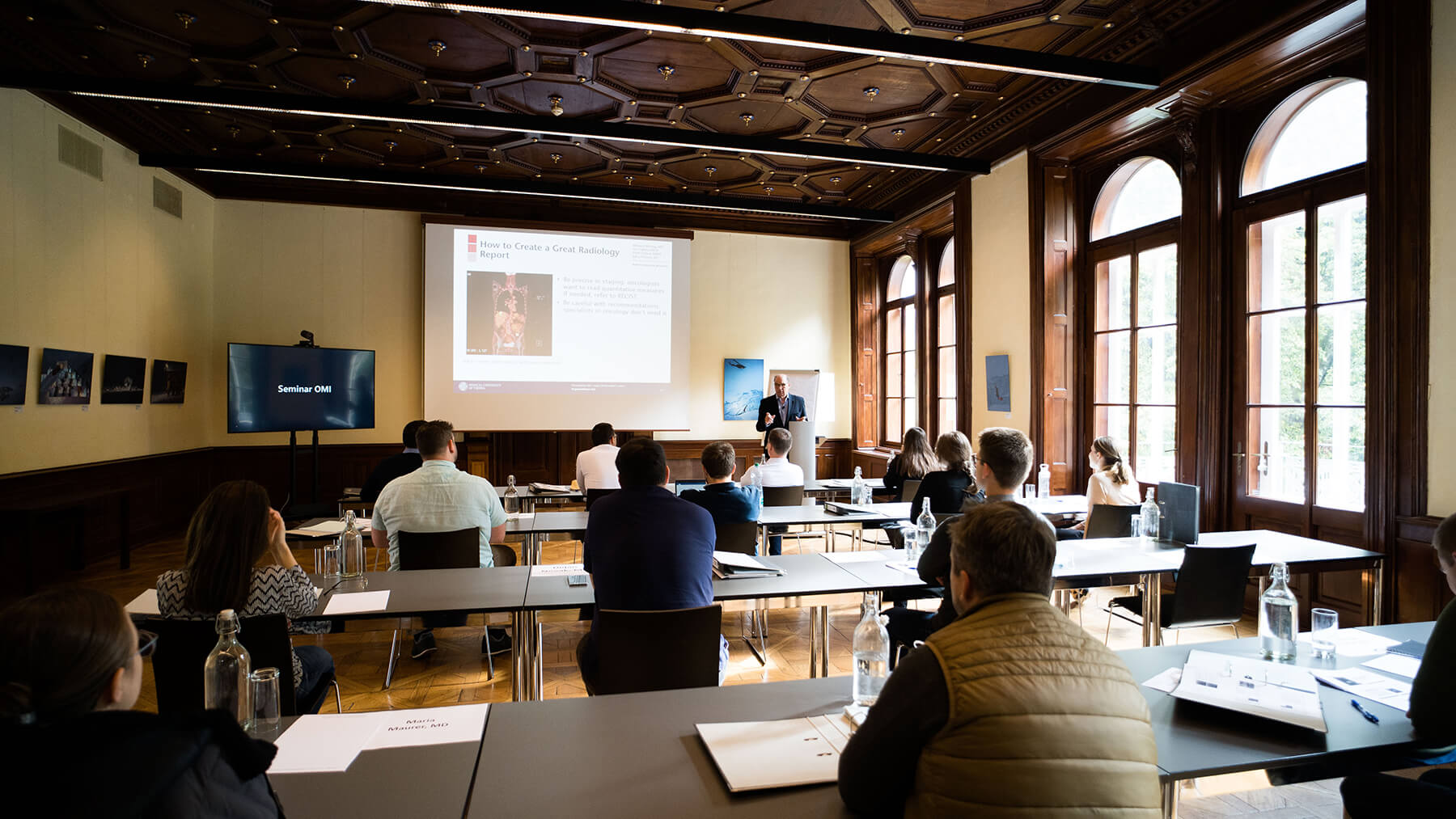 Lecture of Dr. Kainberger (Medical University of Innsbruck)