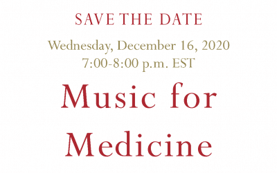 Music for Medicine Benefit 2020