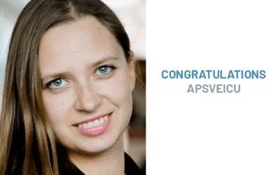 "OMI Alumna Receives ""For Women in Science Award"""